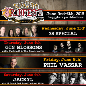 Happy Harry's Ribfest 2015 lineup