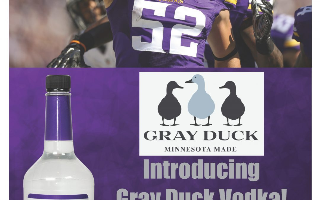 GRAY DUCK VODKA CHAD GREENWAY BOTTLE SIGNING