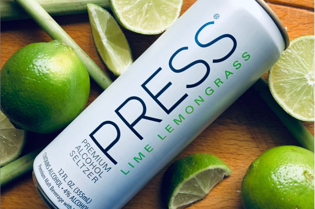 PRESS Premium Alcohol Seltzer